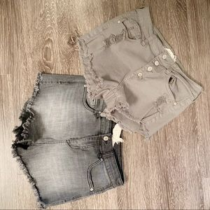 Alter'd State High Rise Distressed Cutoff Shorts